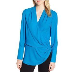 [Trouve] Electric Blue Blouse Size S NWT
